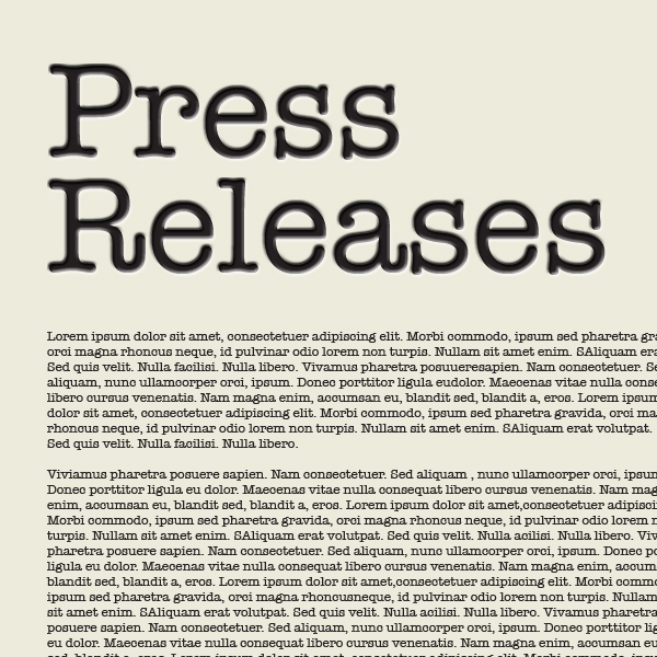 how to write an effective trade press release