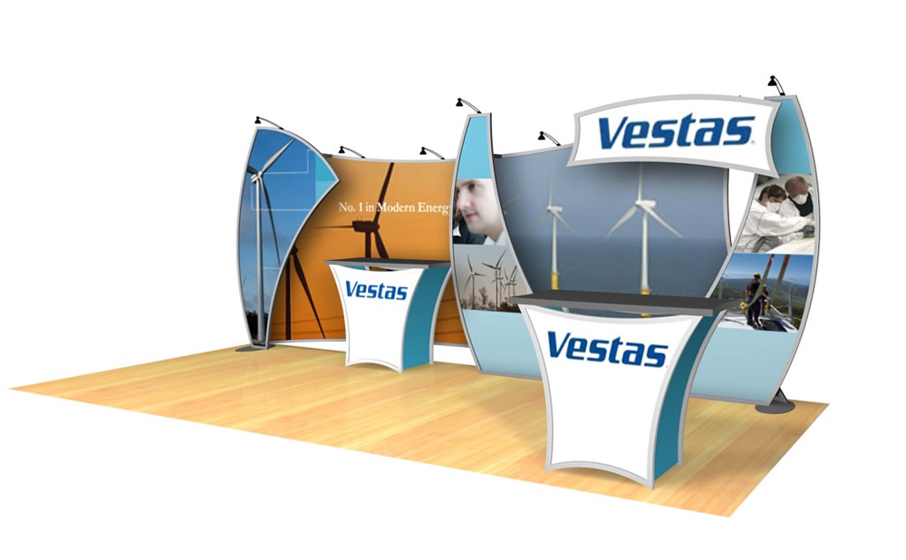 Trade Show Booth Graphics : Trade show graphics that sparkle and shine classic