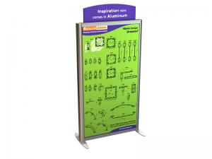 MOD-1259 Trade Show and Event Two-Sided Lightbox Tower