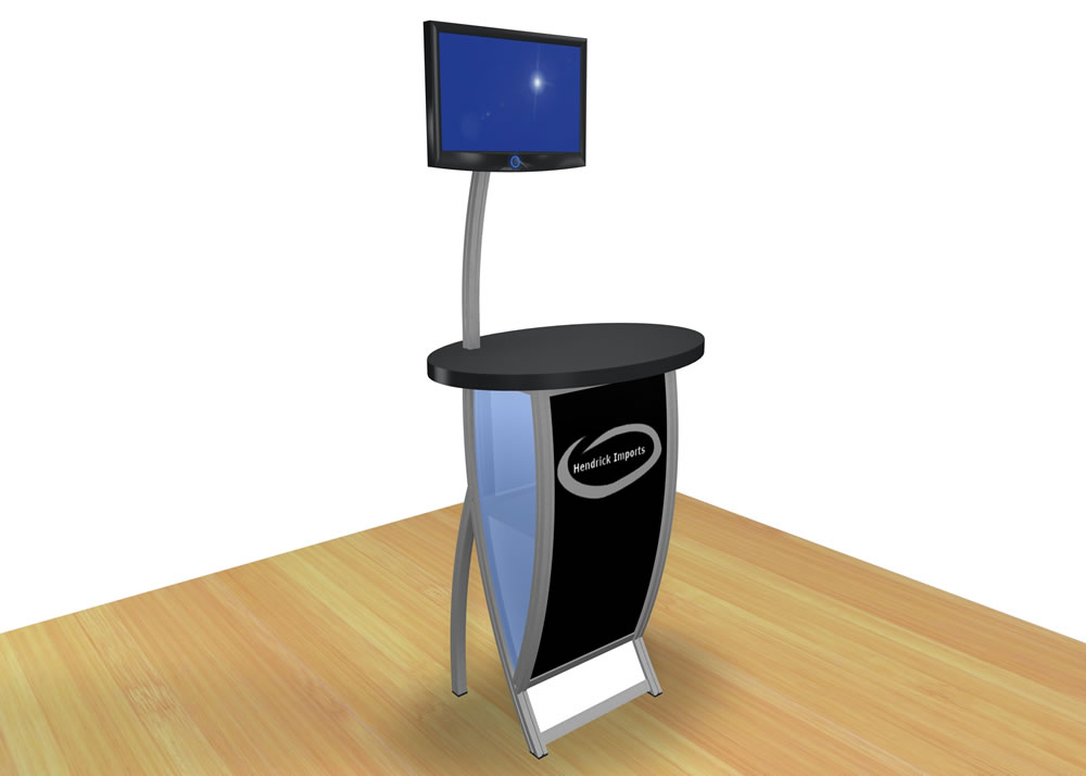 Led Tv Stand Designs : Exhibit design search vk workstation monitor