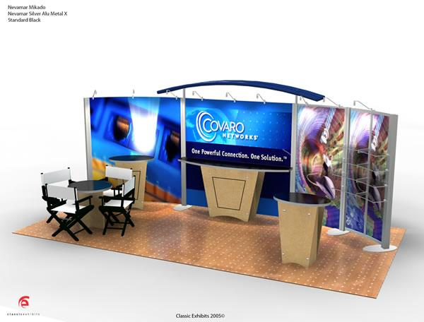 VK-2032 Trade Show Display