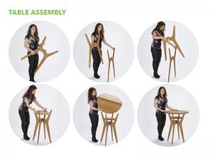 OTMB Portable Table and Chairs -- Table Assembly