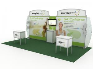 DM-0865 Portable Hybrid Trade Show Exhibit -- Image 1