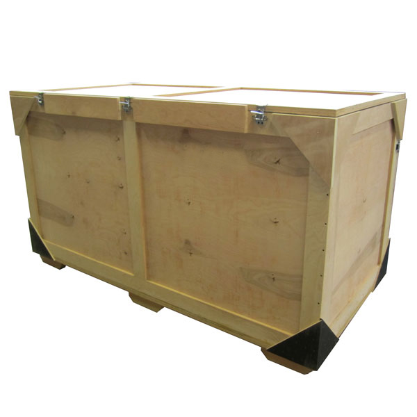 Exhibit Design Search FSC Certified Wood Crate eSmart