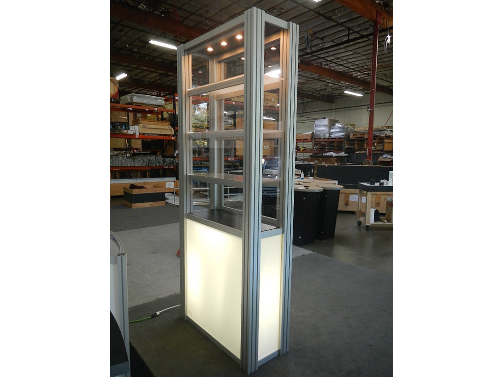 Exhibit Design Search Re 500 Single Display Case