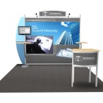 Sacagawea Portable Hybrid Trade Show Displays