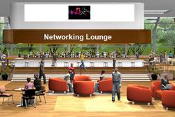 Virtual Networking Lounge
