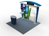 Segue Hybrid Trade Show Displays