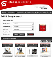 Exhibit Design Search from Classic Exhibits