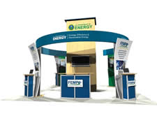 Green Trade Show Display
