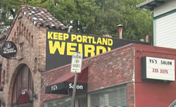 Keeping Portland Weird