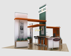 Trade Show Island Design from Classic Exhibits
