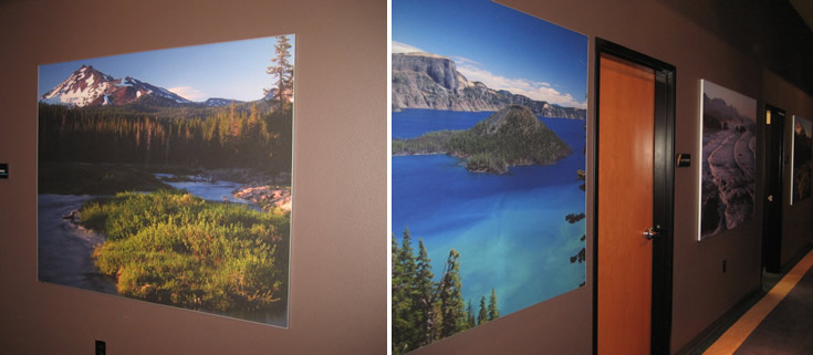 Silicone Edge Graphics (SEG) Wall Murals