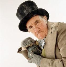 Back Off Scrooge!
