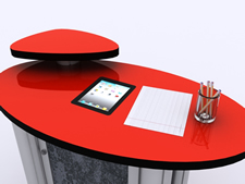 MOD-211 iPad Counter Insert for Trade Shows