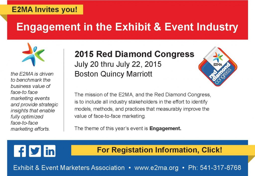 Join Us at 2015 Red Diamond Congress Trade Show Tales