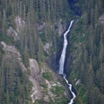 Tracy Arm Fiord | Waterfall