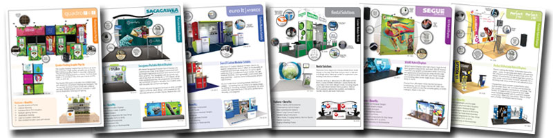 Trade Show Product Sheets from Classic Exhibits