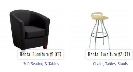 Trade Show Rental Furniture