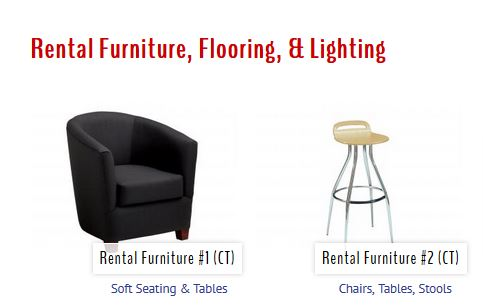 Trade Show Furniture Rentals