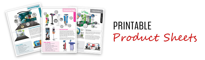 Printable Product Sheets