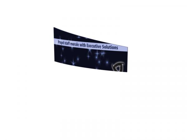 TF-2005 (2D) Curved Tapered Rectangle Hanging Sign