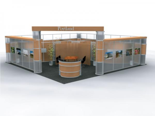 DM-200 Trade Show Exhibit