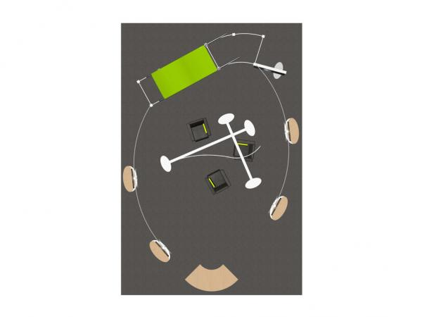 RE-9029 / BP Trade Show Rental Display -- Image 9