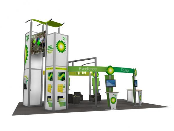 RE-9029 / BP Trade Show Rental Display -- Image 5