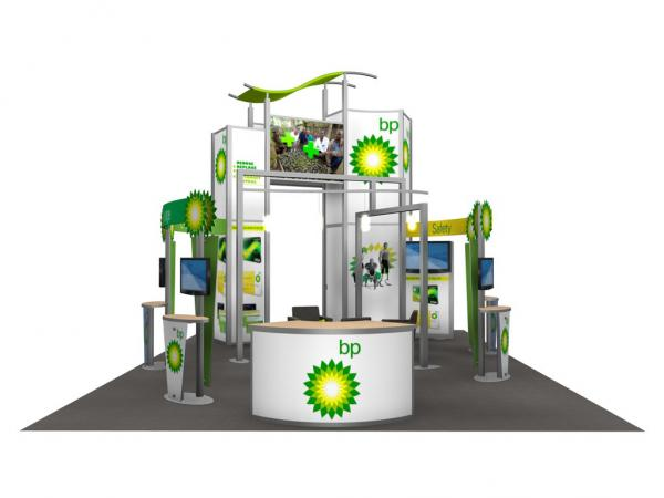 RE-9029 / BP Trade Show Rental Display -- Image 7