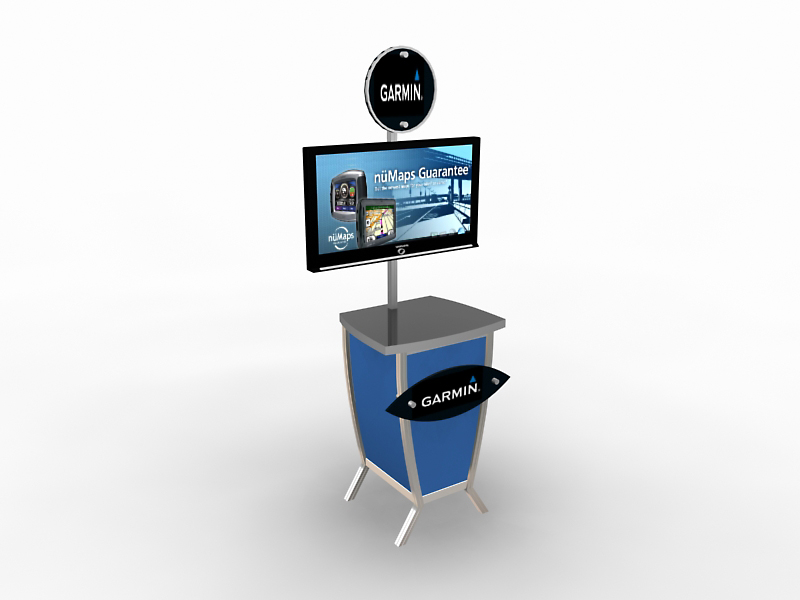 Exhibit Design Search Mod 1228 Monitor Stand Monitor Stands