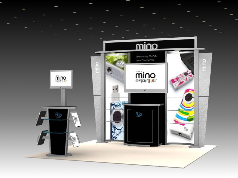 Exhibition Stand Usa : Exhibit design search mod monitor stand