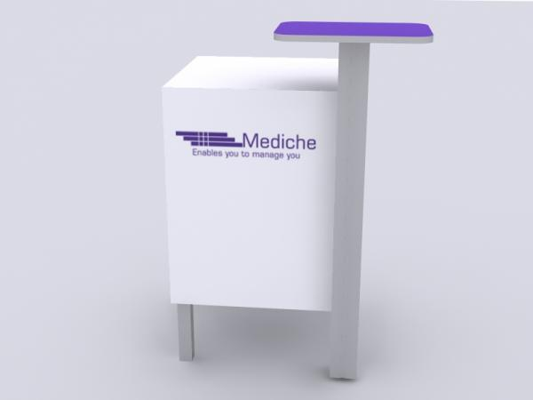 MOD-1327 Trade Show Counter