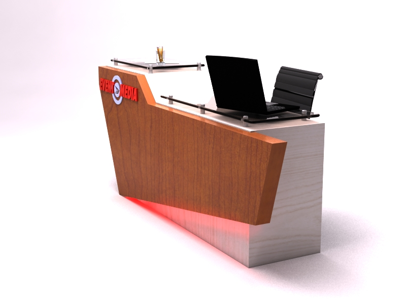 Exhibit Design Search Dm 0783 Custom Desk Design Monday