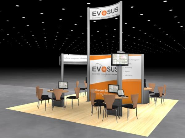 DM-0565 Trade Show Exhibit -- 20' x 20' 
