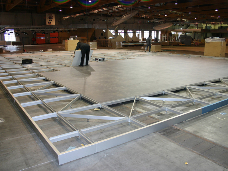 Exhibition Stand Raised Floor : Exhibit design search a p raised flooring system