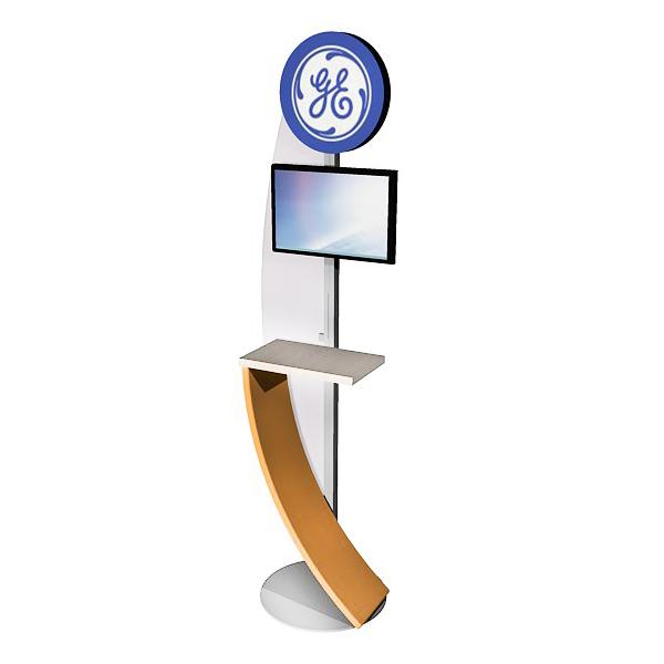 ECO-14K Sustainable Kiosk - View 2