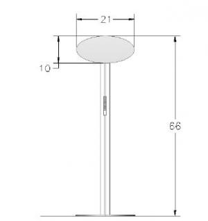 ECO-24C Sustainable Display Stand - View 2