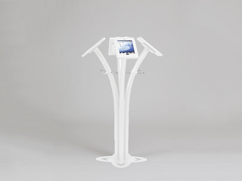 Ipad Mini 5 Specs >> Exhibit Design Search - MOD-1338 | iPad Kiosk (iPad and Surface Stands) - | Classic Exhibits