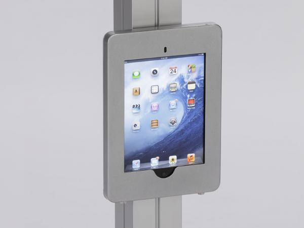 MOD-1318 Swivel iPad Clamshell Frame for Extrusion -- Image 2