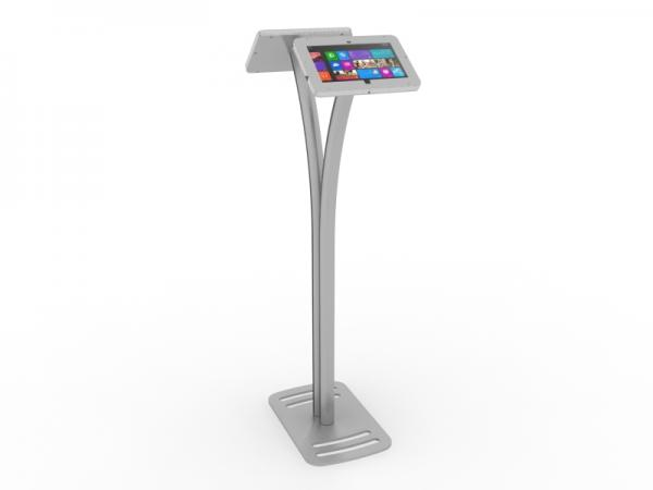 MOD-1334M Portable Surface 2 Kiosk -- Silver