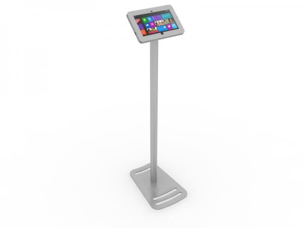 MOD-1335M Portable Surface 2 Kiosk -- Silver