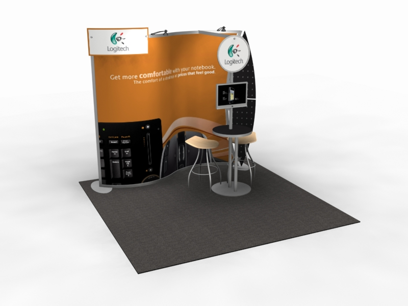 VK-1078 Magellan MOR Portable Trade Show Display -- Image 1