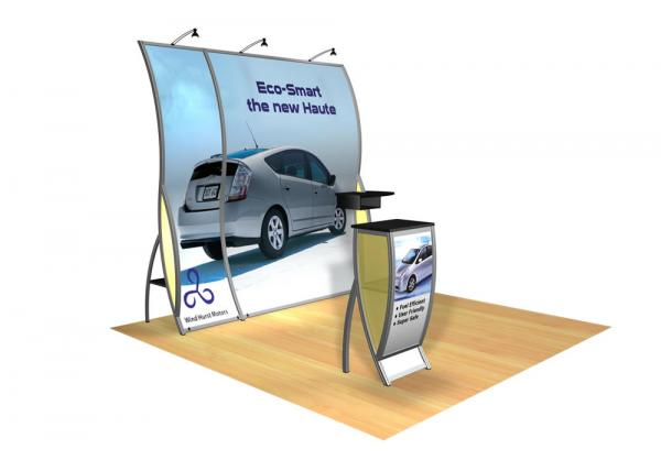 Perfect 10 VK-1502 Portable Hybrid Trade Show Display -- Image 1