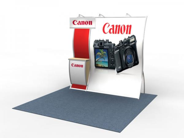 VK-1515 Perfect 10 Portable Hybrid Trade Show Display -- Image 2