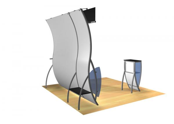 Perfect 10 VK-1504 Portable Hybrid Trade Show Display -- Image 4