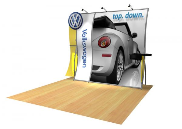 Perfect 10 VK-1507 Portable Hybrid Trade Show Display -- Image 2