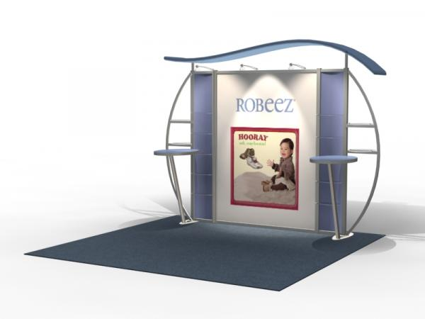VK-1312 Trade Show Exhibit with Silicone Edge Graphics (SEG) -- Image 1