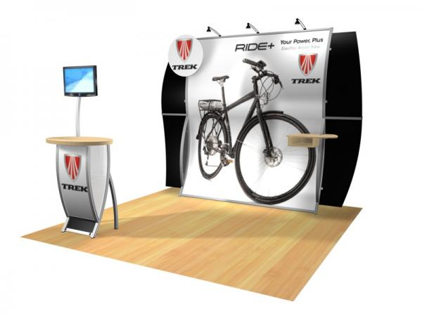 Perfect 10 VK-1513 Portable Hybrid Trade Show Display -- Image 3