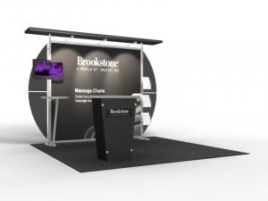 VK-1309 Trade Show Exhibit with Silicone Edge Graphics (SEG) -- Image 1